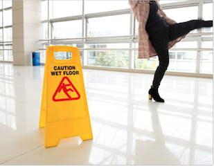 Behind slip and fall accidents
