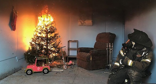 Beware of Christmas tree fires