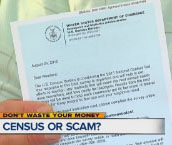Census scam