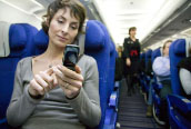 Turning off your phone on flights