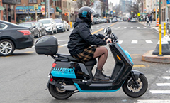 Ride-sharing scooters could be accidents waiting to happen
