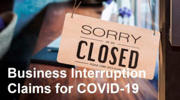 Companies take on insurers over business interruption claims