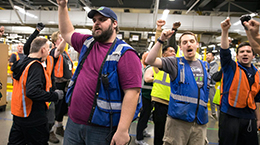 Amazon employees sue over lack of safety